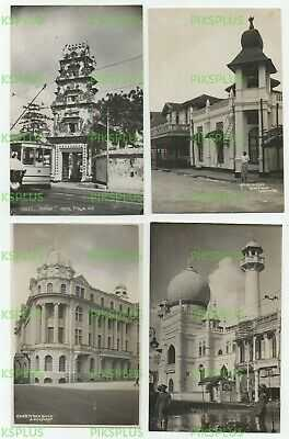 OLD POSTCARDS MALAY MOSQUE ETC SINGAPORE REAL PHOTOS VINTAGE C.1930