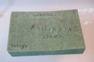 50 Antique Postcards Manila Philippines -Tribes, Buildings, People, Dances 1900s