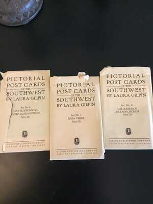 Laura Gilpin Southwest  Pictorial Posr Cards Ca 1927 3 Sets of 6 RARE!