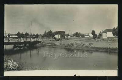 OR Redmond RPPC c.1908 SCENE at REDMOND OREGON Oregon Art Co. B.B. Bakowski 2926