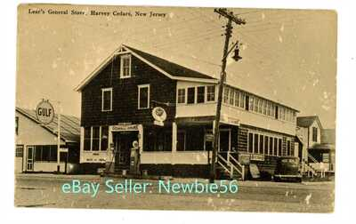 Harvey Cedars NJ - LEAR'S GENERAL STORE BUILDING - Postcard nr Barnegat Light