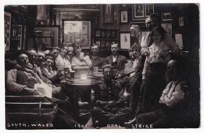 SOUTH WALES 1921 COAL STRIKE -HAS BEEN IDENTIFIED AS CROSS KEYS HOTEL TONYPANDY