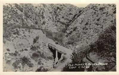 LP02   Camp Cajon  San Bernardino   California Postcard RPPC