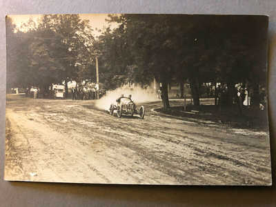 1911 Elgin Auto Race Race RPPC #7 - Car #40