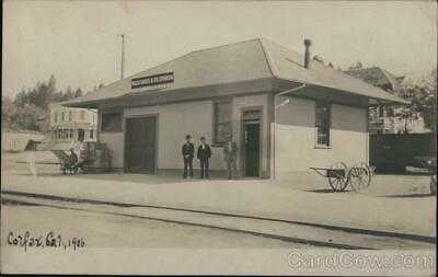 RPPC Colfax,CA Depot,Wells Faro & Co. Express Placer County Railroad Depot