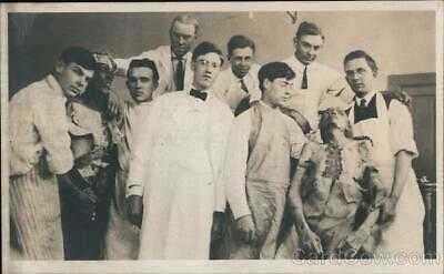 Doctor/Medicine RPPC Dissection Medical Students Pose With Cadavers Postcard