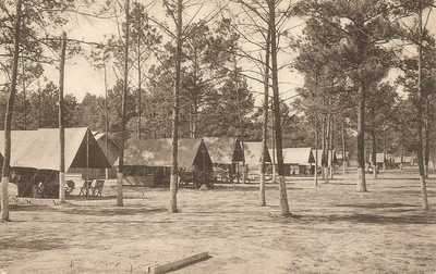 Houston, Texas - Camp Logan - Field Artillery - Officers Row