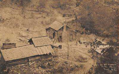 TRYON, NC, MOUNTAIN HOME & FARM OVERVIEW, PEOPLE, MYERS REAL PHOTO PC c 1910-20