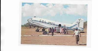 Cayman Airways / LACSA DC-3 Southern Cross resort airport Little Cayman Island