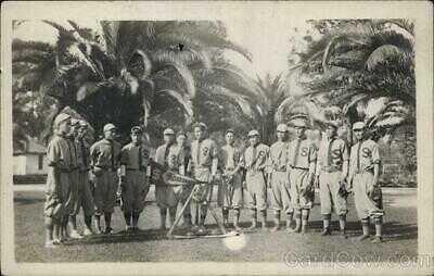 RPPC Riverside,CA Indian Baseball Team,Sherman Institute Native American Vintage