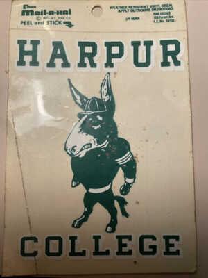 Harpur College (Binghamton NY) Vintage Combination Postcard (unused) Decal