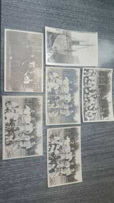 EX. RARE! 6 CIRCA 1910 U.S.C.G. SNOHOMISH BASEBALL TEAM & MORE RPPC'S REAL PHOTO
