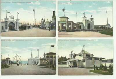 (A280) Russia – Odessa Exposition Unused Cards x9
