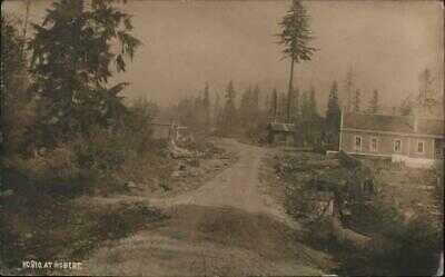 1910 RPPC Scene at Hobart,WA King County Washington Real Photo Post Card Vintage