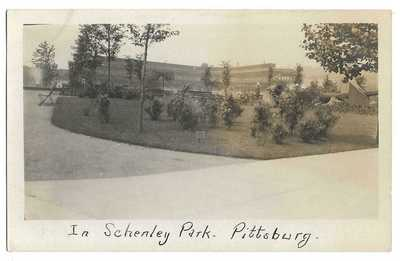 Baseball: Forbes Field, Pittsburg; Grandstand (Early View); Real Photo Postcard