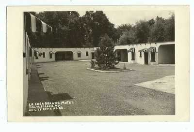 St. Louis, MO Missouri 1948 RPPC Postcard, La Casa Grande Motel, City Route 66