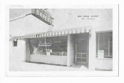 Mio Home Bakery, Mio, MItip Postcard