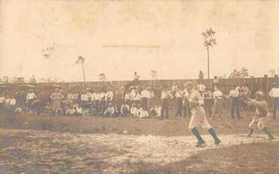 Starke Florida Baseball Game Sports Real Photo Postcard AA4702