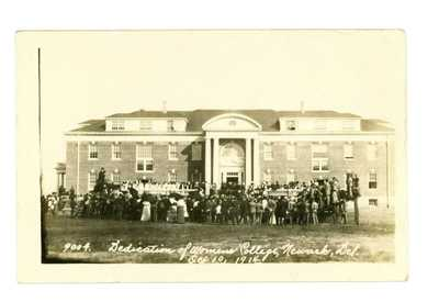 RPPC Dedication of the Women's College Newark, Delaware 1914