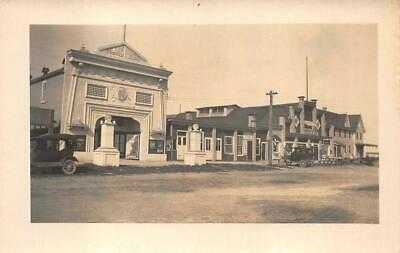 RPPC MOVIE THEATRE HORN'S CAMERAS REHOBOTH DELAWARE REAL PHOTO POSTCARD (1929)
