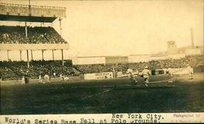1917 RPPC Baseball Postcard THE WORLD SERIES @ POLO GROUNDS Giants vs WHITE SOX