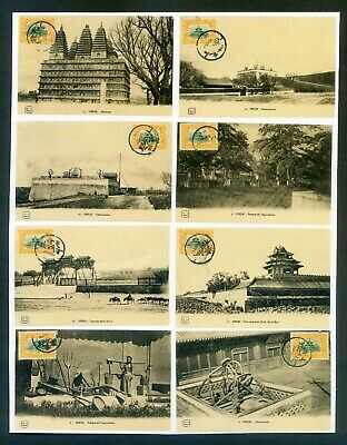 *A coll of unaddressed postcard, all with Temple 2c, 23 pcs