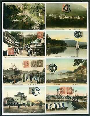 *A coll of postcard all with opt 'China' on Japanese stamp, 25pcs