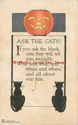 Halloween, Volland No 4041, Ask the Cats! If You Ask the Black Cats