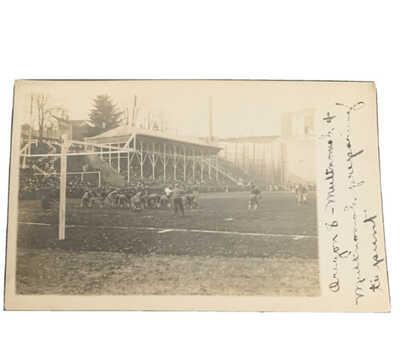 Vintage RPPC University Of Oregon Photo Postcard Football Team Maybe 1906