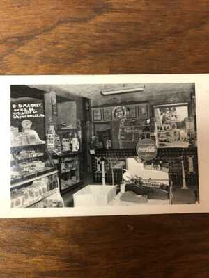REAL PHOTO Postcards D-D Market Route 66 near Waynesville MO August 1948 EKC
