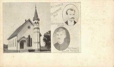 Methodist Episcopal Church Enterprise Mississippi Pastor Gatin Vintage Postcard