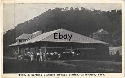 '20 Southern Railroad Depot Calderwood, TN Tenn Tennessee Vonore Alcoa Maryville