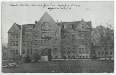 1910 Ogden, Utah - School for Deaf & Blind - Vintage Postcard