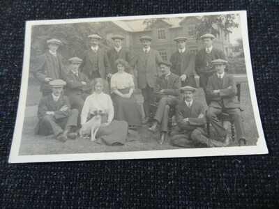 Country House Barnsley Yorkshire Postcard - 45436