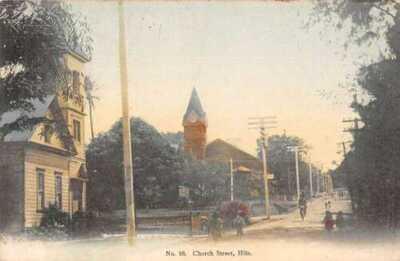 Hilo Hawaii Church Street Japan Hilo Drug Company Vintage Postcard AA45051