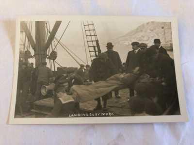 Original R.P.P.C. S.S.Florizel Shipwreck Survivors Newfoundland Postcard #3