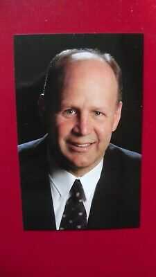 2002-03-Montreal Canadians-Claude Julien-(sp) Postcard.