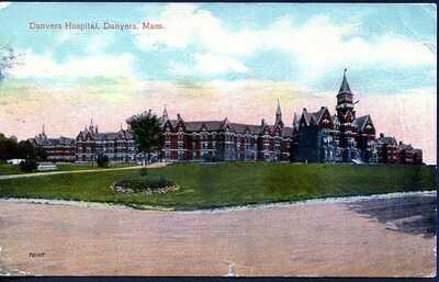 MASSACHUSETTS, DANVERS, DANVERS HOSPITAL, C.-1915, (235