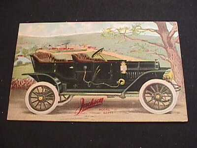 "1911 JACKSON MODEL ""35"" VINTAGE AUTOMOBILE POSTCARD"