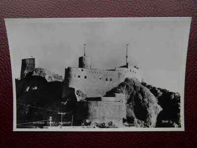 Mirani Fort MUSCAT Sultanate of Oman Arabia *Vintage* RP c1950s SNM4