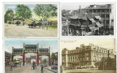 China 1910-30s accumulatio of 23 mostly unused cards