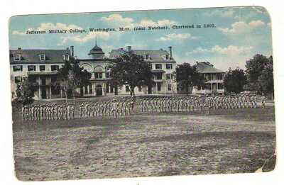 postcard Washington Mississippi MS