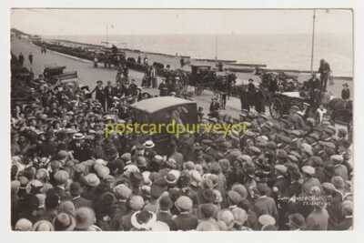 SUFFRAGETTE TRIAL AT FELIXSTOWE CHARGED ARRIVE IN COACH Emeny RP PC E20C - 15
