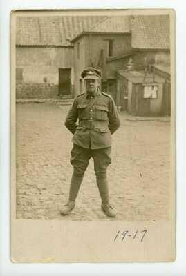 Jeune Soldat 22e Régiment Canadien Français WW1 C.E.F. Soldier FRANCE 1917 RPP