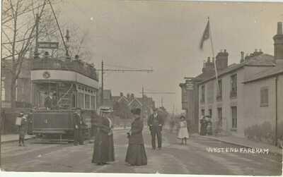 Hampshire, Fareham, West End.