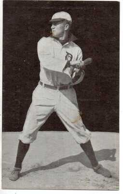 1907 A.. C. Dietsche Detroit Tigers Postcard Tyrus R Cobb- super nice -HOF