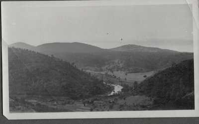 VINTAGE PHOTOGRAPH MERCED RIVER BRIDGE MARIPOSA COUNTY YOSEMITE CALIFORNIA PHOTO