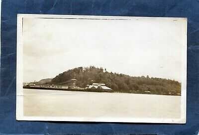 West Seattle,WA-Panorama LUNA PARK fr WATER Alki Beach King County-c1912 RPPC
