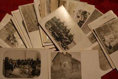 Nickle Plate, Lorain Co., Ohio: 37 Rare Vintage Real Photo Postcards & baseball