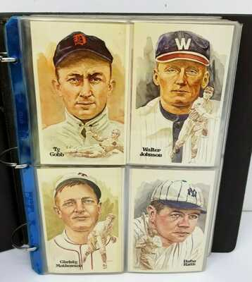 Perez-Steele Baseball Hall of Fame Postcards Series 1-15 Matching #s Missing 26